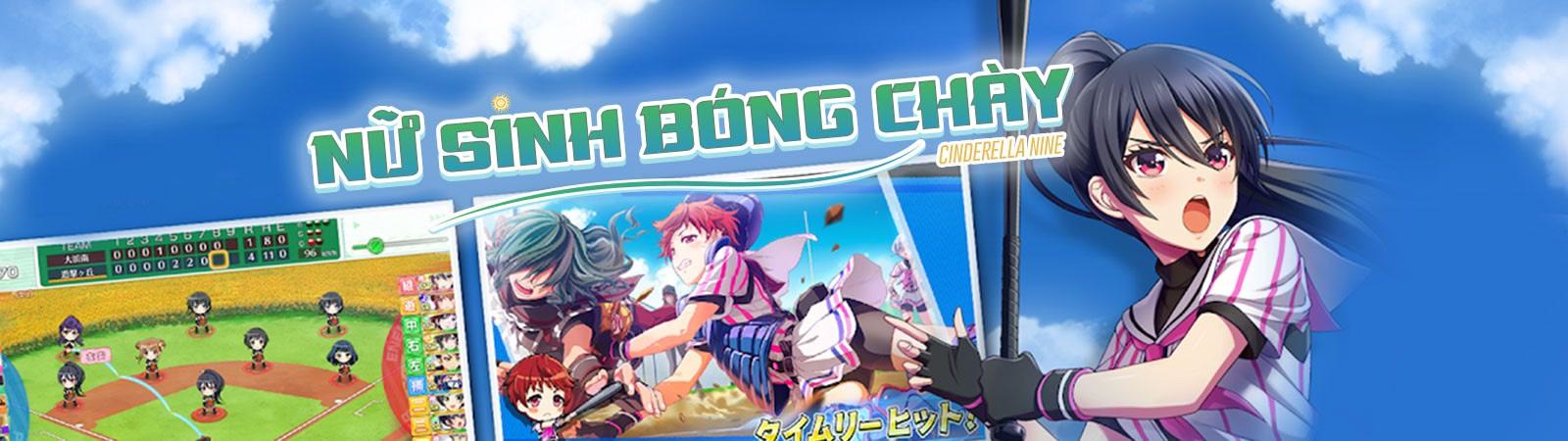 Hachigatsu no Cinderella Nine - Nữ Sinh Bóng Chày