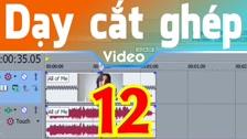 Thường Vĩ Tua Nhanh, Tua Chậm Và Tua Ngược Video Trong Sony Vegas Dạy Cắt Ghép Video Free - Phần 2