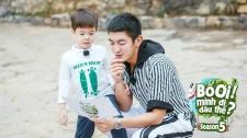 Bố Ơi, Mình Đi Đâu Thế Phiên Bản Trung Quốc Season 5 Bố Con Đỗ Giang 5 Nhật Ký Chăm Con
