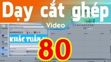 Thường Vĩ Hướng Dẫn Tạo Hiệu Ứng Chữ Quét Sáng Trong Sony Vegas Dạy Cắt Ghép Video Chuyên Sâu