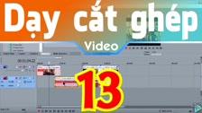 Thường Vĩ Tách Âm Thanh Gốc Của Video Và Chèn Vào Đó Một Âm Thanh Khác Trong Sony Vegas Dạy Cắt Ghép Video Free