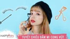 Làm Đẹp Mỗi Ngày Cùng Happyskin Vietnam Tuyệt Chiêu Bấm Mi Cong Vút Siêu Dễ Hi, Beauties