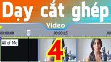 Thường Vĩ Làm Quen Với Kim Thời Gian Trong Sony Vegas Dạy Cắt Ghép Video Free - Phần 2