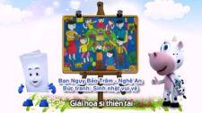 Thi Tài Cùng Họa Sỹ Đốm Vẽ Bức Tranh Những Chú Cừu Chạy Nhảy Thi Tài Cùng Họa Sỹ Đốm