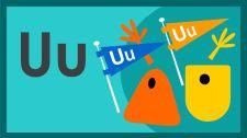 Bé Học Đánh Vần The Letter U Song Alphabet