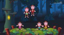 Bé Học Đánh Vần Five Little Monkeys Jumping On The Bed Toán Học Vui Cho Bé