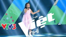 Giọng Hát Việt Nhí 2015 When a Child Is Born - Phạm Phương Khanh Vòng Giấu Mặt