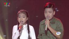 Giọng Hát Việt Nhí 2015 Màu hoa đỏ - Hải Yến & Tiến Quang | Liveshow 3 Liveshow 3