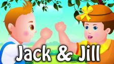 ChuChu TV Kids Song Jack and Jill Rhyme - Be Strong & Stay Strong! Nursery Rhymes