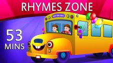 ChuChu TV Kids Song Wheels On The Bus Nursery Rhymes Collection
