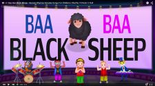 ChuChu TV Kids Song Baa Baa Black Sheep Nursery Rhymes Karaoke Songs