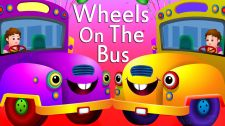 ChuChu TV Kids Song Wheels on the Bus Go Round and Round Nursery Rhymes