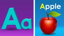 ChuChu TV Kids Song Phonics Song with TWO Words - A For Apple 123 And ABC Songs For Children