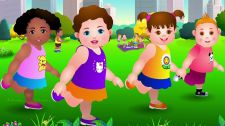 ChuChu TV Kids Song Head, Shoulders, Knees & Toes - Exercise Song For Kids Nursery Rhymes