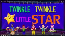 ChuChu TV Kids Song Twinkle Twinkle Little Star Nursery Rhymes Karaoke Songs