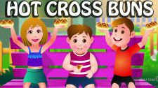 ChuChu TV Kids Song Hot Cross Buns Nursery Rhymes
