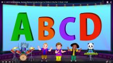 ChuChu TV Kids Song ABCD Alphabet Song Nursery Rhymes Karaoke Songs