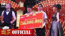 Thách Thức Danh Hài 2015 Trấn Thành, Việt Hương Òa Khóc Trao 150 Triệu Thách Thức Danh Hài - Season 2