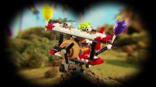 LEGO® Angry Birds Movie Thách Thức 1-2 - Hạ Bệ Heo Xanh Thử Thách Heo Xanh