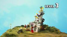 LEGO® Angry Birds Movie Thách Thức 1-2 - Tấn Công Lâu Đài Vua Heo Thử Thách Heo Xanh