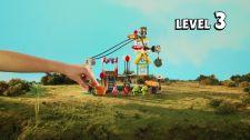 LEGO® Angry Birds Movie Thách Thức 1-3 - Tấn Công Ngôi Làng Thử Thách Heo Xanh