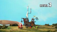 LEGO® Angry Birds Movie Thách Thức 1-2 - Tàu Siêu Trộm Thử Thách Heo Xanh