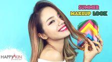 Làm Đẹp Mỗi Ngày Cùng Happyskin Vietnam Summer Makeup Look Và Các Sản Phẩm Lý Tưởng Cho Cô Nàng Da Dầu Học Trang Điểm Cùng Happyskin