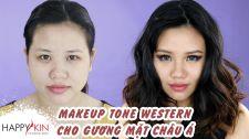 Làm Đẹp Mỗi Ngày Cùng Happyskin Vietnam Trang Điểm Kiểu Tây Cho Gương Mặt Châu Á Mẹo Làm Đẹp Mỗi Ngày