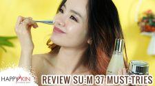 Làm Đẹp Mỗi Ngày Cùng Happyskin Vietnam Review Mỹ Phẩm Lên Men Hàn Quốc Sum 37 Và Top 5 Must Haves Mỹ Phẩm Nào Cho Bạn