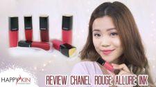 Làm Đẹp Mỗi Ngày Cùng Happyskin Vietnam Review Swatch Son Chanel Rouge Allure Ink Học Trang Điểm Cùng Happyskin