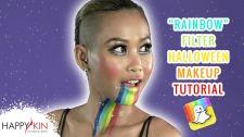 Làm Đẹp Mỗi Ngày Cùng Happyskin Vietnam Makeup Tutorial Rainbow Filter Halloween Học Trang Điểm Cùng Happyskin