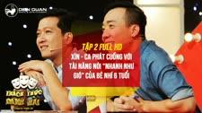 """Thách Thức Danh Hài 2016 Cô Bé 6 Tuổi Khiến Trường Giang, Trấn Thành """"Nể Phục"""" Thách Thức Danh Hài 2016"""