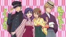 Hôn Cậu Ấy Kìa, Đừng Hôn Tôi - Kiss Him, Not Me - Tập 11 Watashi ga Motete Dousunda