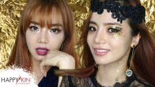 Làm Đẹp Mỗi Ngày Cùng Happyskin Vietnam Glitter Holiday Makeup Tutorial Học Trang Điểm Cùng Happyskin