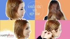 Làm Đẹp Mỗi Ngày Cùng Happyskin Vietnam 4 Kiểu Tóc Đẹp, Điệu Cực Đơn Giản Với Kẹp Tăm Mẹo Làm Đẹp Mỗi Ngày