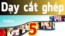 Thường Vĩ Hướng Dẫn Làm Video Bằng Sony Vegas - Cơ Bản - Phần 5 Dạy Cắt Ghép Video Cơ Bản - Hướng Dẫn Sony Vegas Dành Cho Người Mới