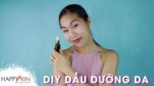 Làm Đẹp Mỗi Ngày Cùng Happyskin Vietnam DIY Hướng Dẫn Tự Làm Dầu Dưỡng Da Tại Nhà Làm Đẹp Từ Căn Bếp