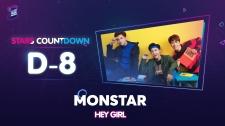 Zing Music Awards 2017 MONSTAR Hát Hey Girl Cực Ấn Tượng Thử Thách Cùng ZMA 2017