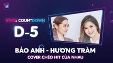 Zing Music Awards 2017 Bảo Anh - Hương Tràm Cover chéo HIT Em Gái Mưa & Sống Xa Anh Chẳng Dễ Dàng Thử Thách Cùng ZMA 2017
