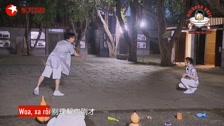 Thử Thách Cực Hạn Season 5 Cục Nọng Nhiệt Ba được Vương Tấn ca tặng gấu bông chơi trò chơi Hậu trường