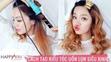 Làm Đẹp Mỗi Ngày Cùng Happyskin Vietnam Tự Tạo 2 Kiểu Tóc Uốn Lọn Bồng Bềnh Siêu Đơn Giản Hi, Beauties