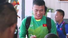 Cầu Thủ Nhí Official Giao Lưu Cùng HLV Park Hang Seo Và bí Mật Buổi Tập Của Olympic VN Tôi Yêu Olympic Việt Nam