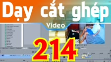 Thường Vĩ Gắn 1 Clip Lên Một Mặt Phẳng Nghiêng Bằng Event Pan-Crop, Track Motion 3d&2d Dạy Cắt Ghép Video Free