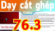 Thường Vĩ Tạo Hiệu Ứng Chớp Sáng, Hiệu Ứng Sáng Tối Liên Tục Trong Sony Vegas - Cách 3 Dạy Cắt Ghép Video Chuyên Sâu