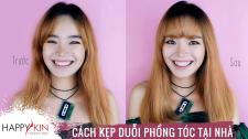 Làm Đẹp Mỗi Ngày Cùng Happyskin Vietnam Hướng Dẫn Kẹp Duỗi Tóc Tại Nhà Nhanh Gọn Đẹp Hi, Beauties
