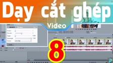 Thường Vĩ Tạo Hiệu Ứng Xuất Hiện, Kết Thúc Và Chuyển Cảnh Trong Sony Vegas Dạy Cắt Ghép Video Free
