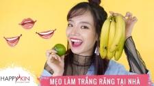 Làm Đẹp Mỗi Ngày Cùng Happyskin Vietnam Mẹo Làm Trắng Răng Đơn Giản Tại Nhà Hi, Beauties