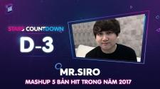 Zing Music Awards 2017 Mr. Siro Hát Mashup 5 Bản Hit Của Mình Trong Năm 2017 Thử Thách Cùng ZMA 2017