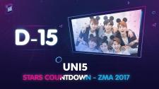 Zing Music Awards 2017 Uni5 Nhảy Cover As If It's Your Last Và Gashina Thử Thách Cùng ZMA 2017