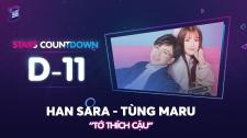 Zing Music Awards 2017 Tùng Maru Make Up Cho Han Sara Siêu Đáng Yêu Thử Thách Cùng ZMA 2017